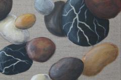 Acryl u. Strukturpaste auf Leinwand, 40 x 50 cm, verkauft